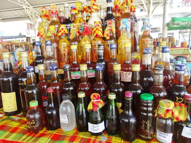 From Guadeloupe with colors : Le marché aux épices de Pointe-à-pitre - MadeinGuadeloupe