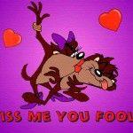 Tasmanian Devil Kiss HD pictures Tasmanian Devil Cartoon Wallpapers...lol