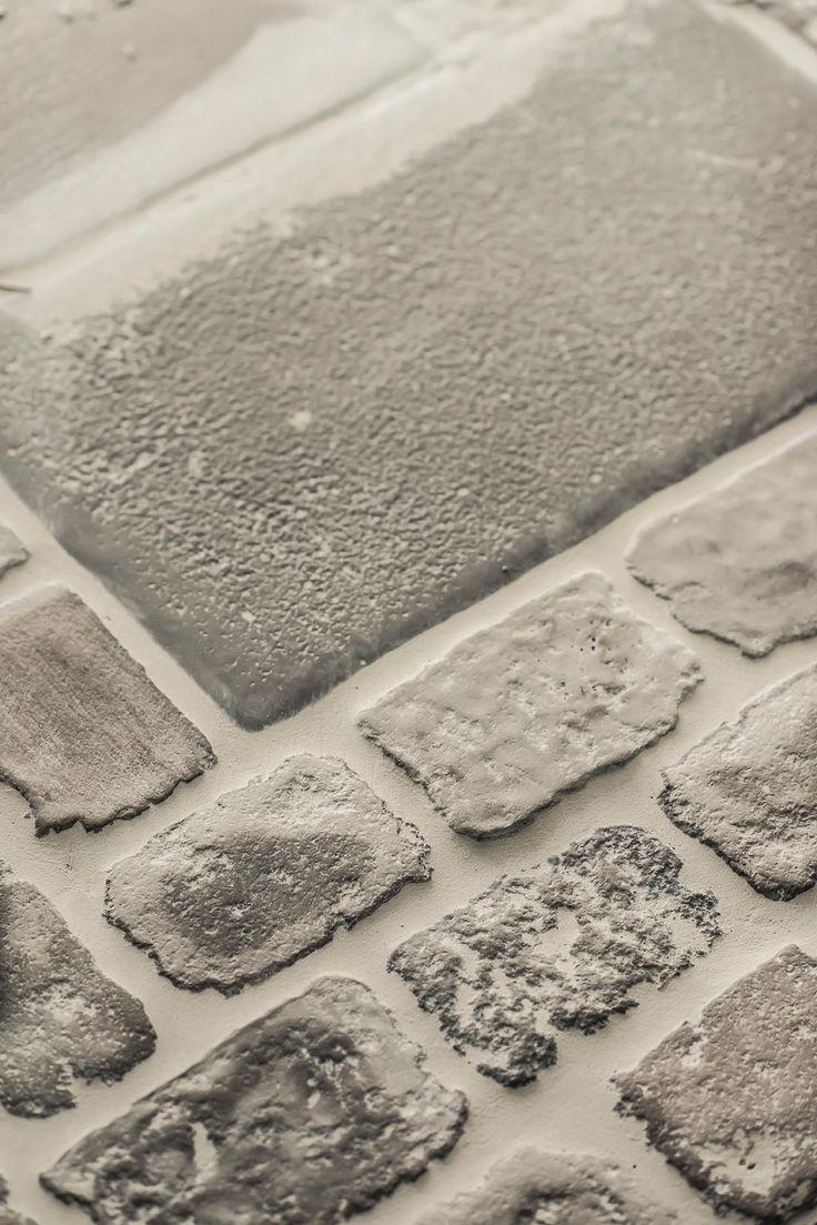 raw stones karakteristieke vloer met vloerverwarming