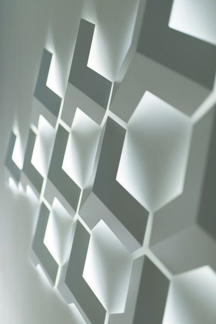 LED steel wall light RAY by Inarchi