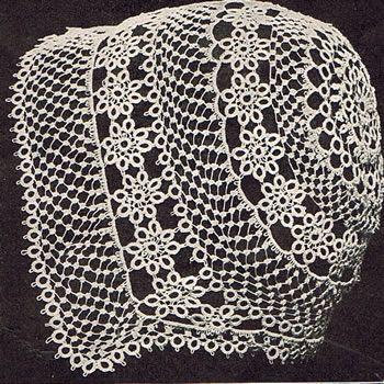 vintage tatting | Heirloom Crochet - Vintage Tatting - Priscilla Tatting Book 2