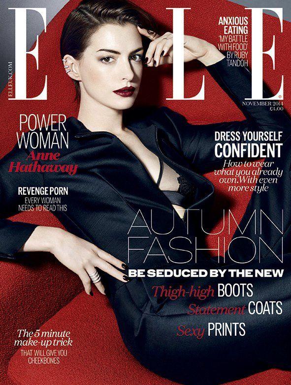 Anne Hathaway - Nov. 2014 U.K. Cover