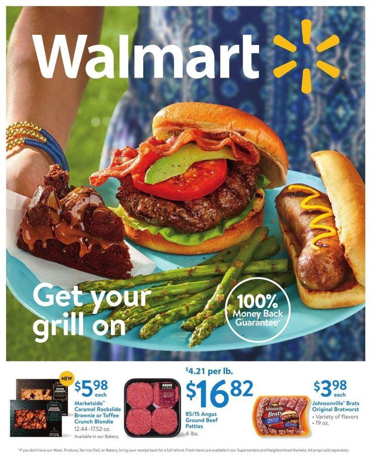 Walmart Ad September 1 - 16 #food #grocery savings #Walmart circular. Get you grill on.
