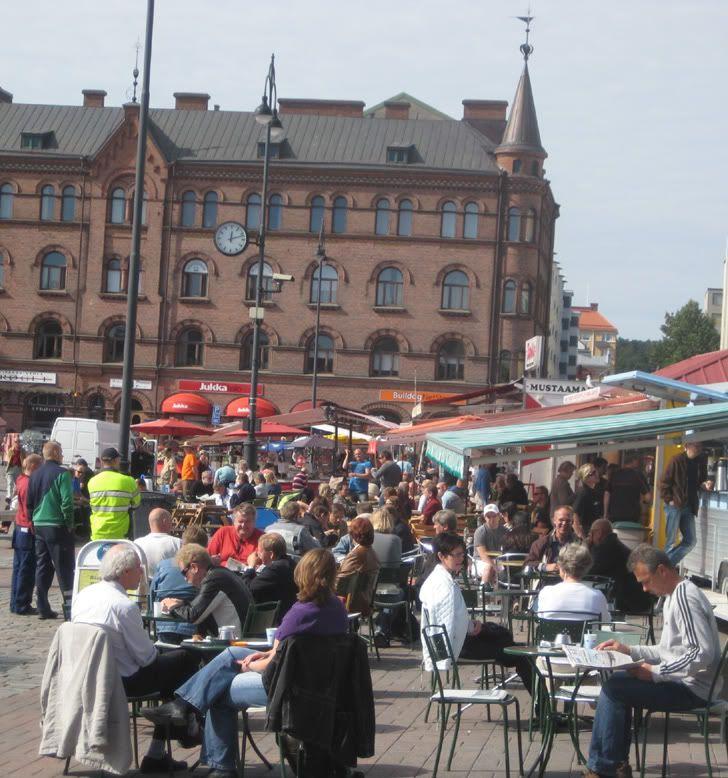 Laukontori Market place, Tampere
