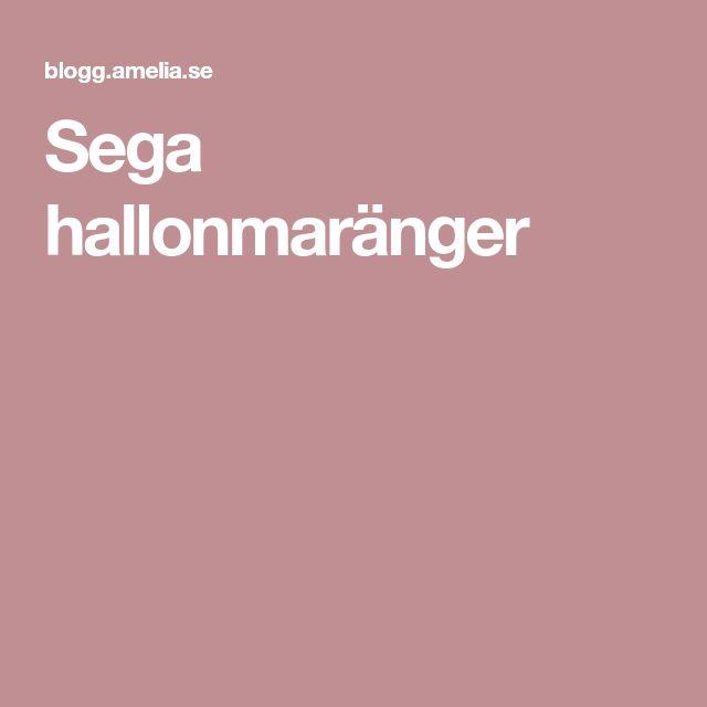 Sega hallonmaränger