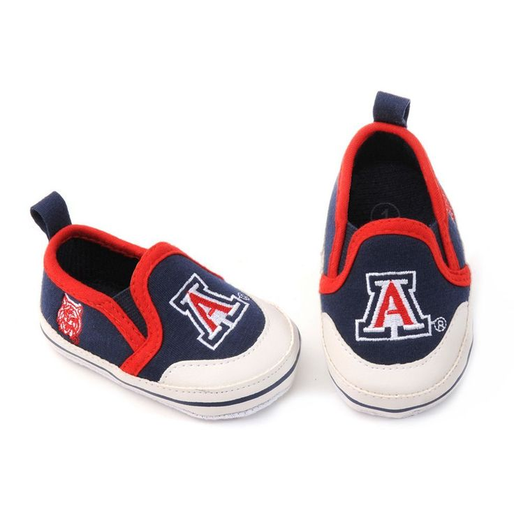 Arizona Wildcats Crib Shoes - Baby, Infant Unisex, Size: 6-9 Months, Blue