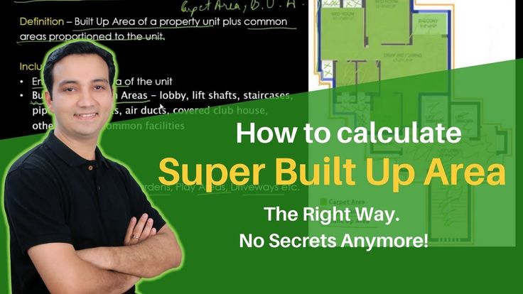 Super Built Up Area - Calculation, Formula and Concept    Do you know what is the super built-up area?  How to calculate or estimate the super built up area of a property or building?   How is super built-up area calculation formula different from carpet area, built up area, plinth area and net saleable area?   Watch this video to find out the answer of these and many other questions.   #RealEstate #SuperBuiltUpArea #AssetYogi