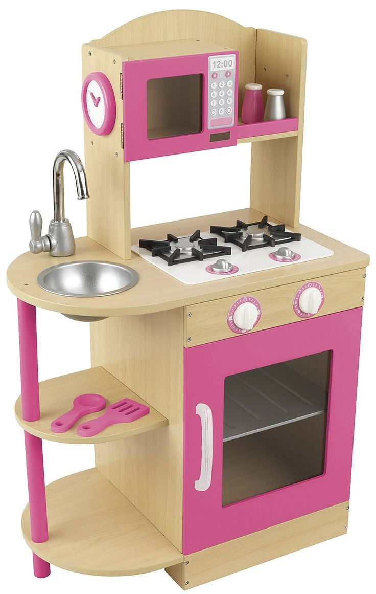 KidKraft Pink Wooden Kitchen 53195