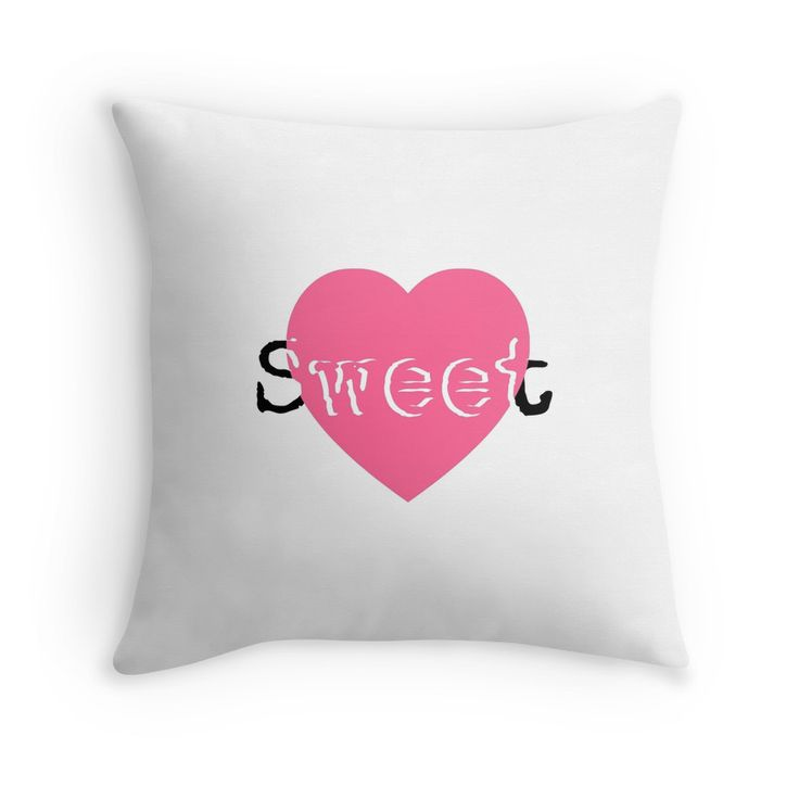 Nice pads designed by Brigitte B. Would you buy this pillow? Look here: https://www.redbubble.com/people/bbrigitte/works/23527105-sweet?p=throw-pillow&ref=artist_shop_grid