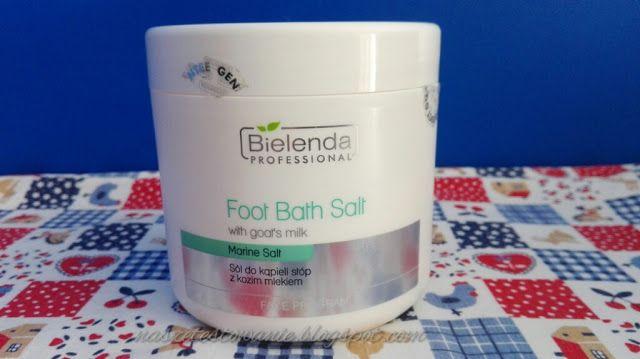 Nasze Testowanie: Bielenda Professional sól do kąpieli stóp z kozim ...