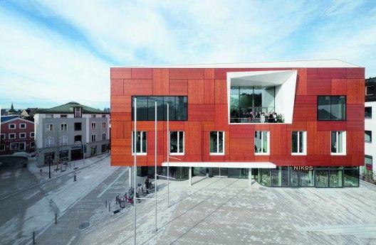 City Hall in Bad Aibling, Germany by Behnisch Architekten