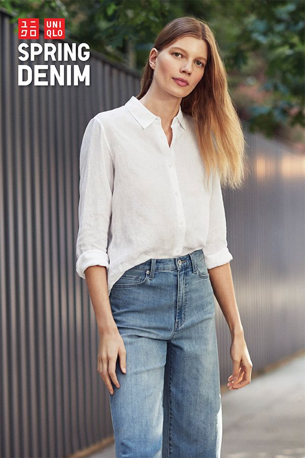 Flattering, feminine, and perfect for spring. Our new collection of denim features a wide range of styles, fits, and colors. Loose, tight, or high-rise, there's a style to suit every personality at uniqlo.com.