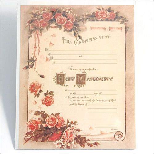 17 best Wedding info for buss images on Pinterest Wedding advice - wedding certificate template