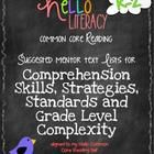 These are groups of titles that I have compiled based on books that have worked for me in teaching different K-2 comprehension skills, strategies a...
