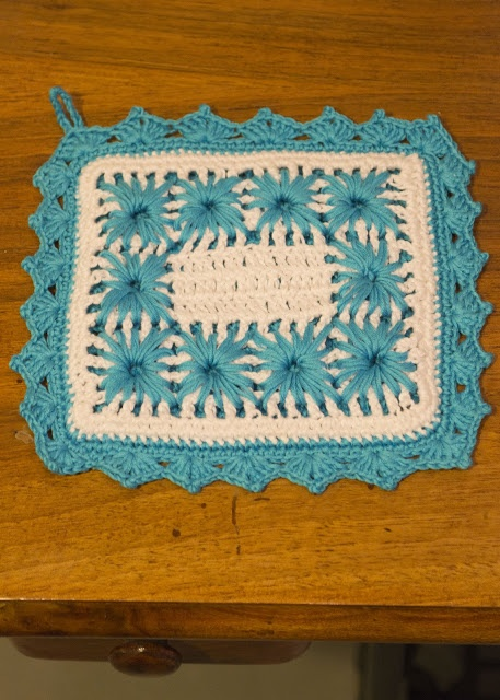 Faccio cose knit vedo gente: Vintage potholders...crescono
