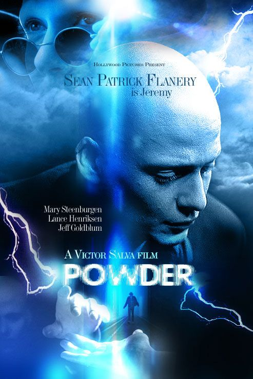 """Powder.....will always be right up there on my list of favorite movies. Some find it corny but I think it's the depth of a movie before its time that is scary. A contradictory notion that defies their need to remain in a way that considered """"unique"""" rather than part of a bigger thing. It's emotional and challenging."""