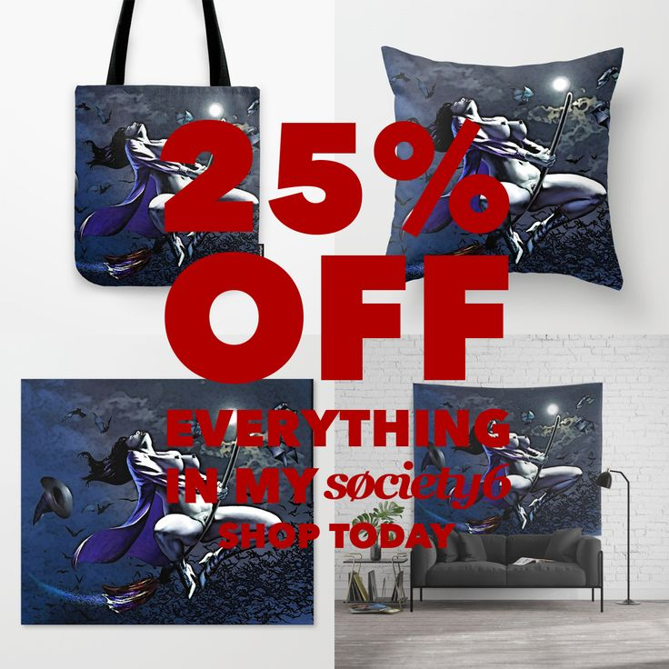 It's back! #halloween huge #sale at #society6 !!! Grab that sweet 25% OFF EVERYTHING, pick from best selection of art at T-Shirts & Hoodies, Men's Apparels, Women's Apparels, Stickers, iPhone Cases, Samsung Galaxy Cases, Posters, Home Decors, Tote Bags, Pouches, Prints, Cards, Mini Skirts, Scarves, iPad Cases, Laptop Skins, Drawstring Bags, Laptop Sleeves, and Stationeries and many many more! #design #onsale #promotion #hot #best #sexy #naughty