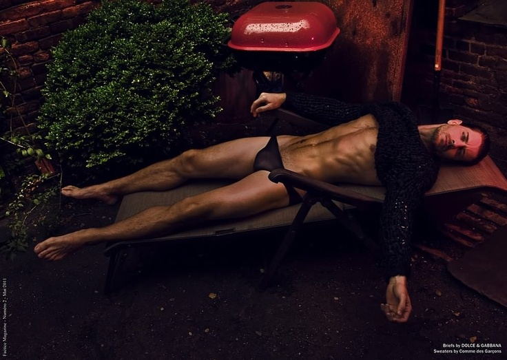 Josh Button, male model and actor by Lope Navo for Factice Magazine