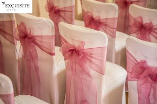 EXQUISITE EVENTS AND CHAIR COVER HIRE: Hire : White/Black Spandex Chair cover with free S...