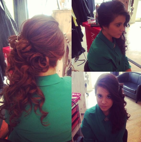 Quinceanera Hairstyles On The Side : 123 best quinceanera hairstyle and makeup images on pinterest