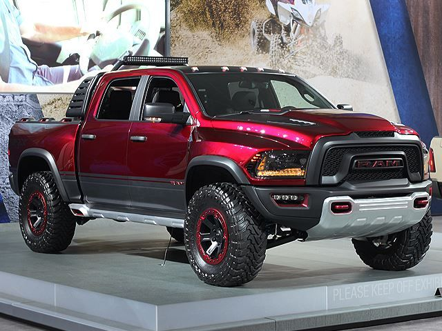Pictures Don't Do It Justice: The Ram Rebel TRX Concept Is ...