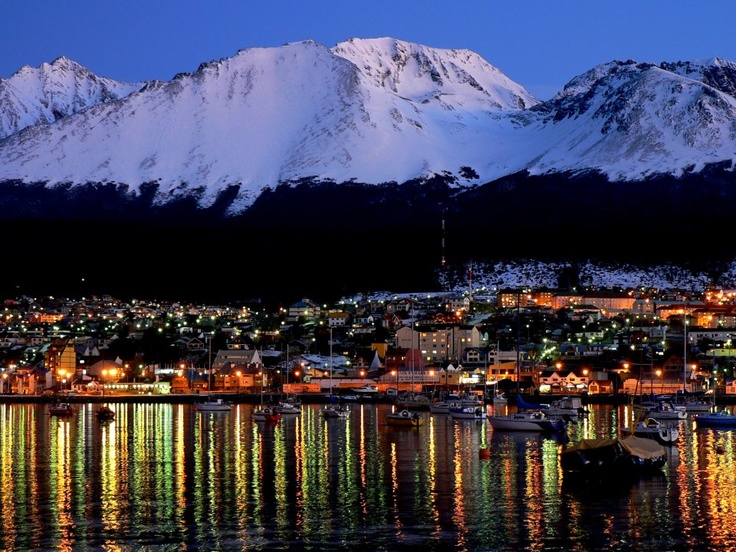 Ushuaia, Argentina One day I'll travel to the End of the World with you :)
