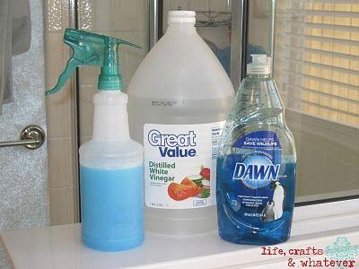 to clean soap scum