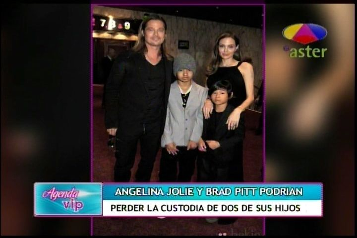 Angelina Jolie Y Brad Pitt Podrían Perder La Custodia De Dos De Sus Hijos