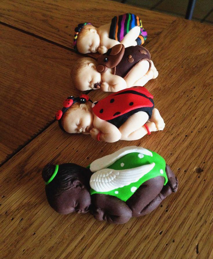 B b s en p te fimo porcelana bebes nacimiento bautismo primer a o comunion pinterest - Bebe en pate fimo ...
