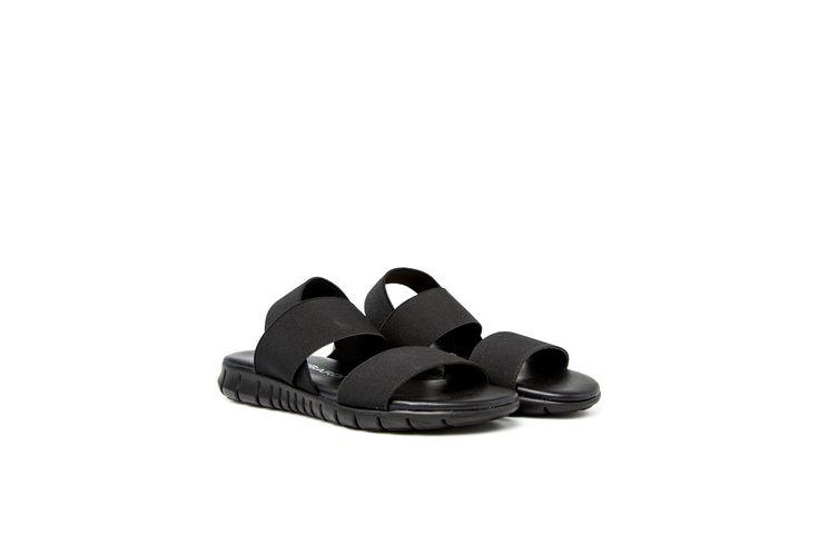 ALCEA sandali stretch con bande elastiche e suola in gomma http://shop.nrrapisardi.it/shop/alcea-sandali-piatti/ #nrrapisardi #rapisardi #stretch #sandali #flex #sandals #flats #blacksandals #shoes #fashion #madeinitaly