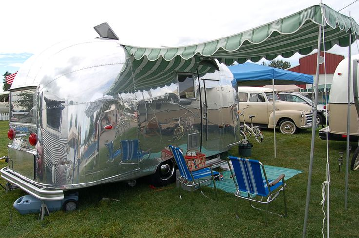 171 Best Images About Vintage Trailers On Pinterest