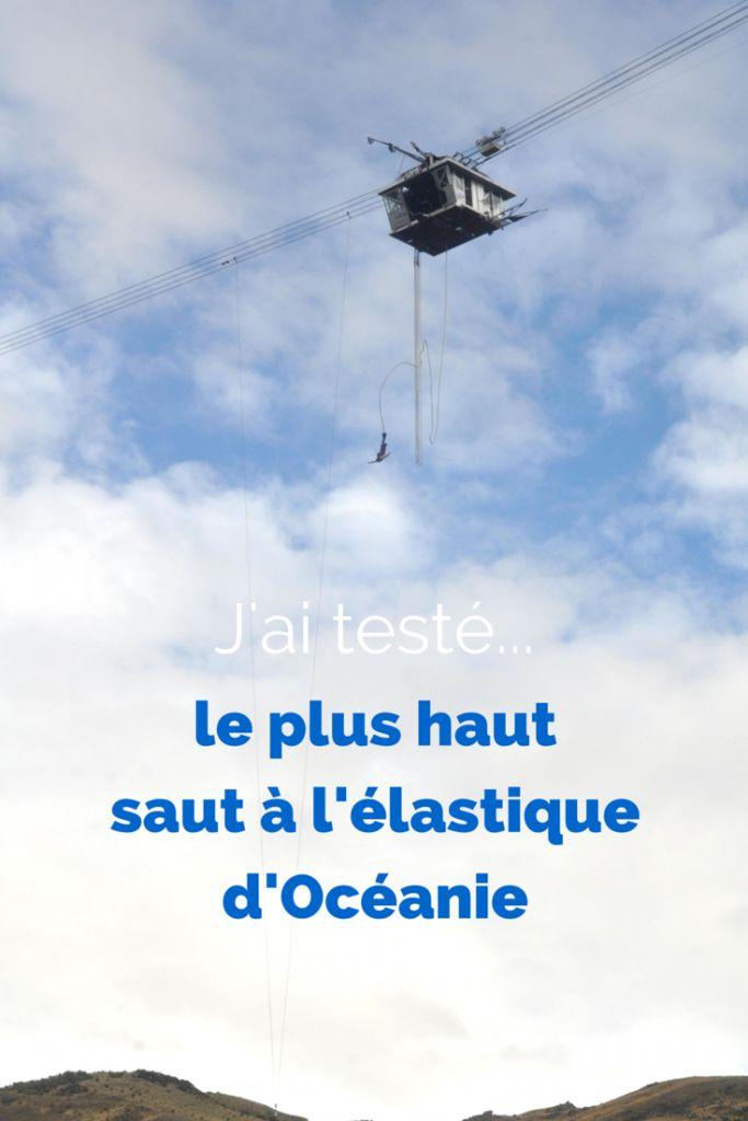 J'ai testé le plus haut saut à l'élastique d'Océanie: le Nevis fait 134m de haut au-dessus d'un canyon. Découvrez la vidéo du saut dans cet article.