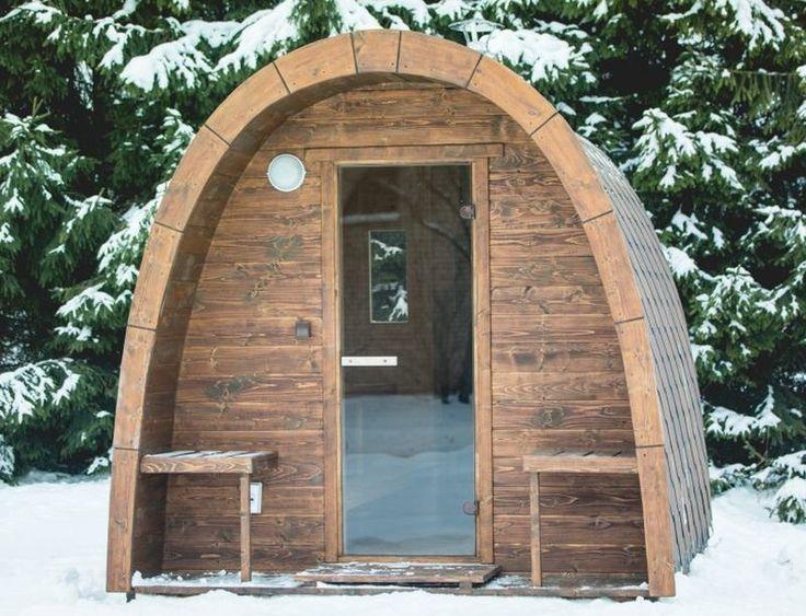 1000 id es sur le th me cabane de couvertures sur pinterest forts forts - Sauna exterieur poele bois ...