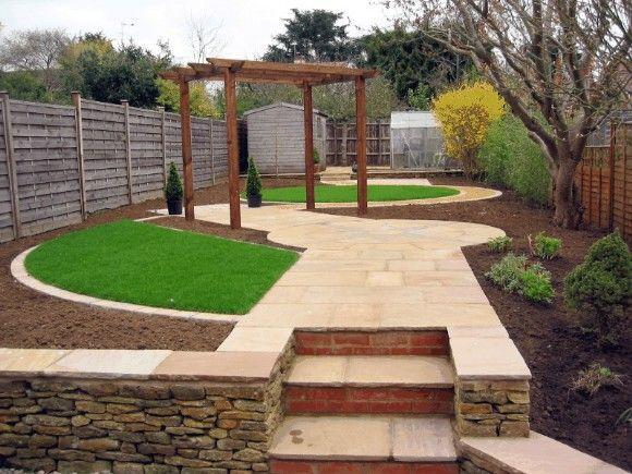 Bon Clear Geometry In A New Garden.