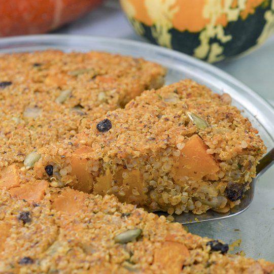 Quinoa & Winter Squash Bake