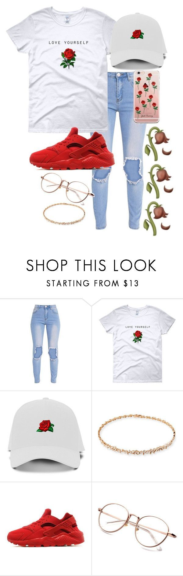 """Untitled #245"" by bxbysnoop ❤ liked on Polyvore featuring Suzanne Kalan and NIKE http://amzn.to/2stx5H7"