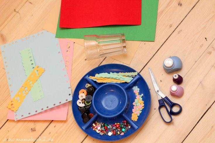 Heute zeige ich euch eine Montessori inspirierte Bastelidee für zu Hause. Die Kinder setzen die Bastelei dabei vollkommen selbständig um.