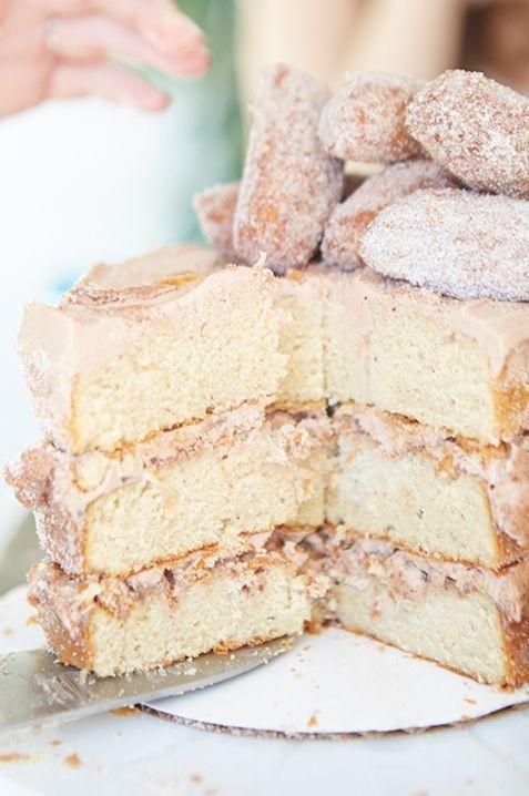 Cinnamon sugar churro cake   Yum!