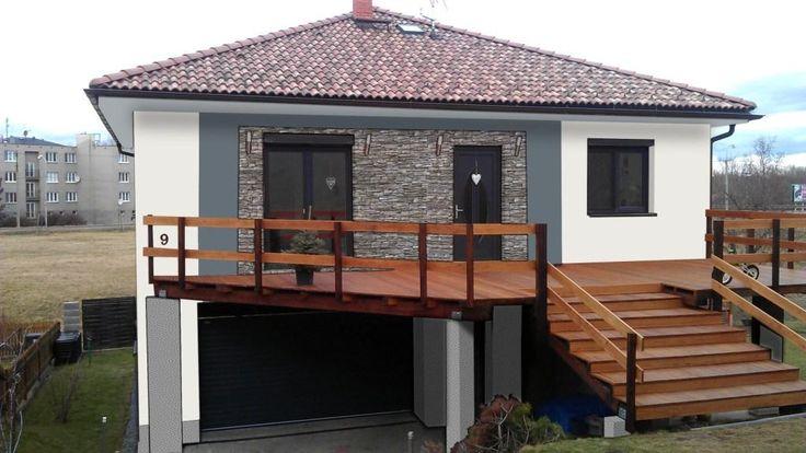 Grafické studio PRO fasády, návrhy fasád rodinných domů