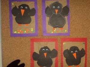 Crow craft idea for kids | Crafts and Worksheets for Preschool,Toddler and Kindergarten