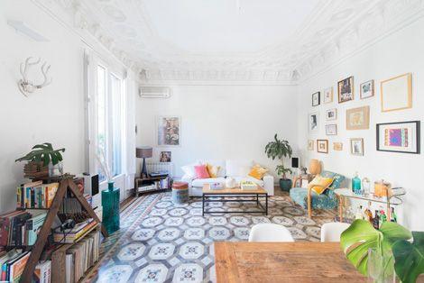 Een Vintage #Interieur.   http://www.lifestylewonen.nl/binnenkijken-bij-een-vintage-appartement/