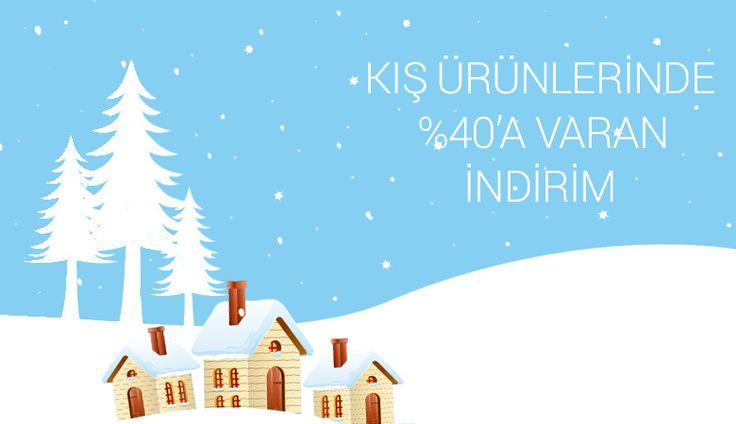 Kış aylarına özel ürünlerde %40'a varan indirimler hugsepet.com'da!