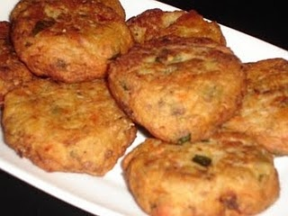 Eggplant Fritters (Melitzanokeftedes). This is a delicious meze! You can have it as an accompaniment to a meal, as a meze - which tastes wonderful with Tzatziki - or as part of a buffet.