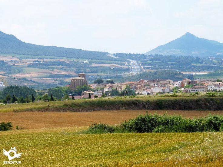 Villatuerta/Bilatorta, situado en la zona media de Navarra en el valle de La Solana.