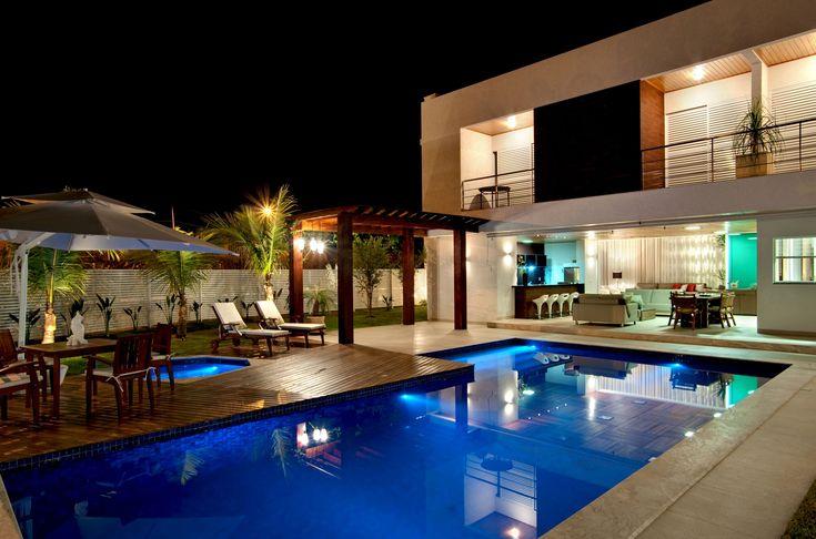 Pools Area, Dreams Home, Interiors Design, Dreams House, Pools Tables, House Architecture, Rafael Arquitetura, 038 House, Atenas 038