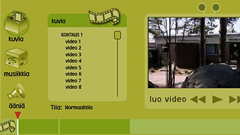 Kokeile elokuvan leikkaamista netissä, Leikkaamo | Aivonarikka | Ohjelmaopas | yle.fi