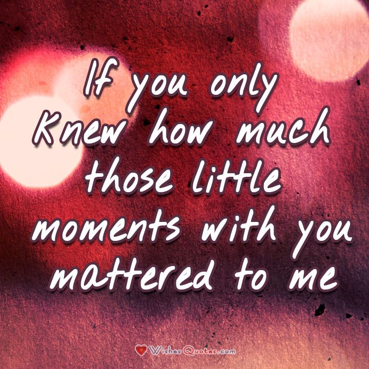 The Little Things Matter Most In Life: It's The Small Things That Matter The Most! ♡