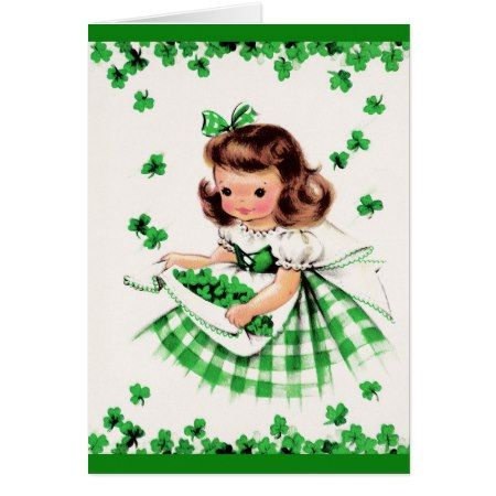 St. Patrick's Day Greetings. Customizable Card - click to get yours right now!