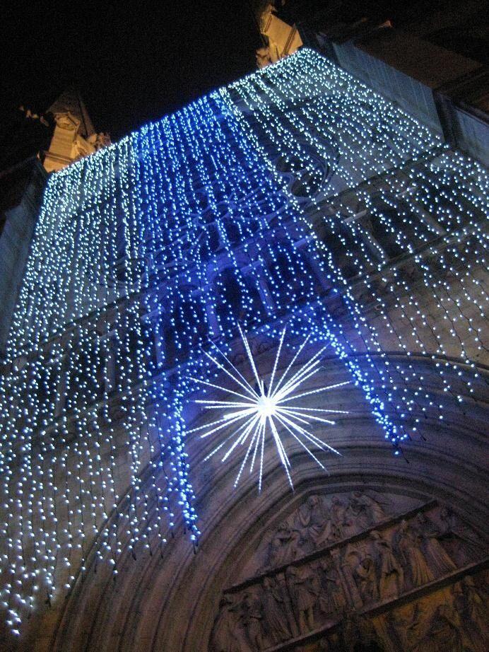 Joyeux Noël à Paris, Cathedral Notre-Dame de Paris.