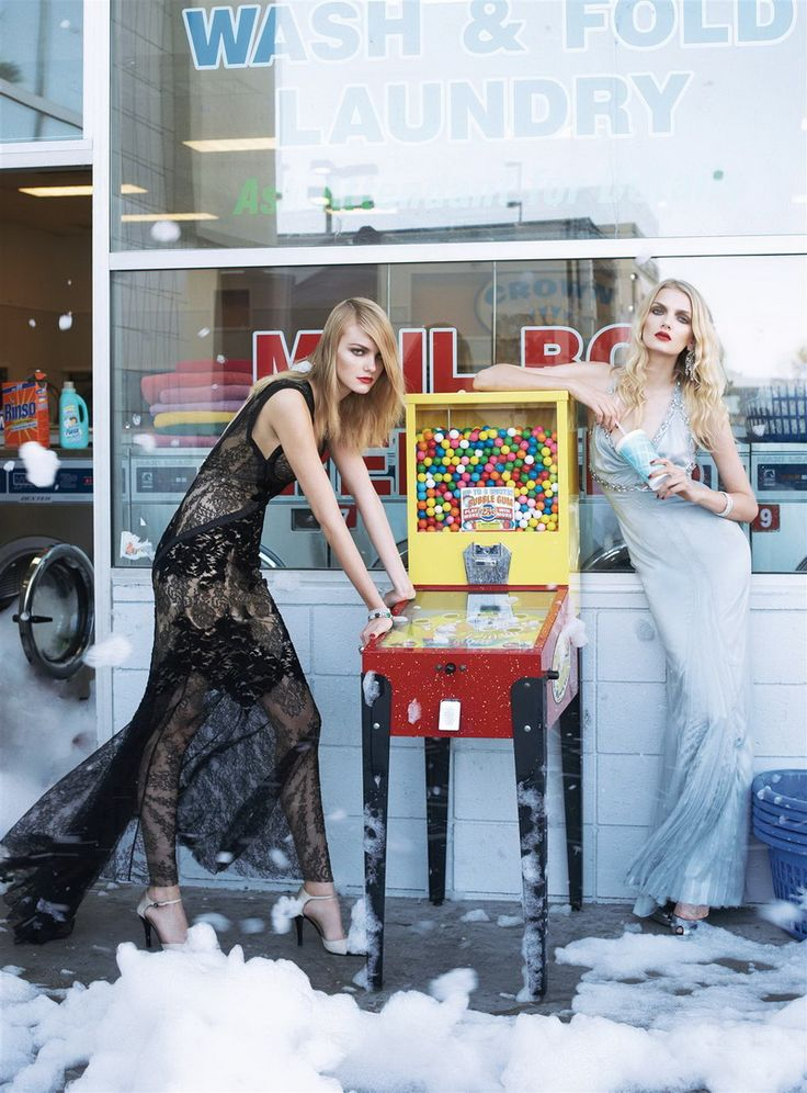 steven meisel5 Morning Beauty | Lily Donaldson, Gemma Ward & Caroline Trentini by Steven Meisel